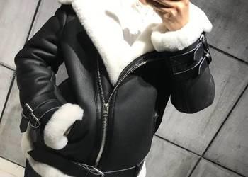 Kożuchy damskie skórzane S-XL