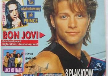 POPCORN 1993 NR 04 - BON JOVI + AUTOGRAFY