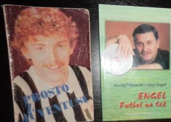 Boniek, Engel - pilka nozna - dwie ksiązki