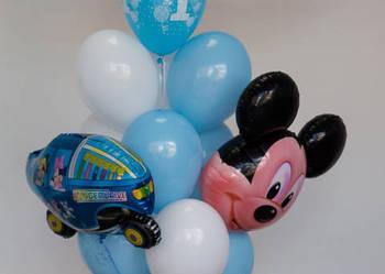 Balony  na roczek, balony z helem, pierwsze urodzin