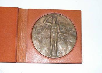 medal pamiątkowy Polskiego Komitetu Olimpijskiego 1980 rok