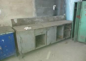 Stół warsztatowy, metalowy, blat roboczy, stoły warsztatowe
