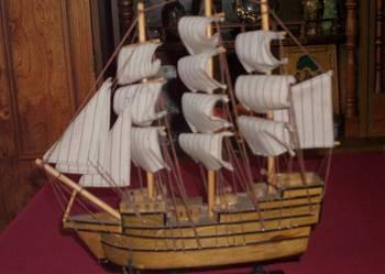 Piękny model okrętu HMS Victory - ręczna robota !!