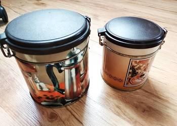 puszka dekoracyjna puszki na kawe herbate