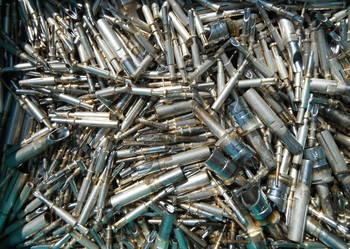 Srebro do odzysku z pinów złącz wojskowych.
