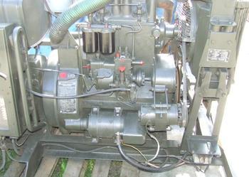 Silnik silniki S-322 agregat prądotworczy