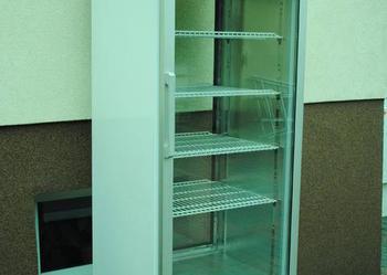 Szafa chłodnicza witryna cukiernicza 2x przeszklona MAWI. Do