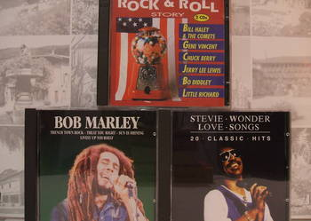 4 x CD > Stevie WONDER , Bob MARLEY , Rock&Roll STORY <