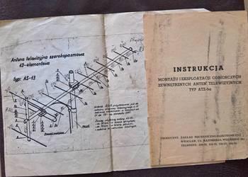 Instrukcja Montażu Anten Telewizyjnych  Typ-ATZ-5a