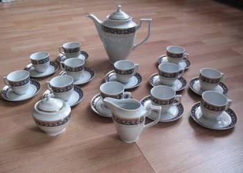 Porcelana KSIĄŻ serwis kawowy na 12 osób (27el.)