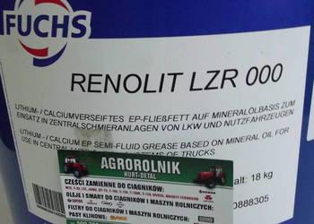 Smar do centralnego układu smarowania FUCHS RENOLIT LZR 000
