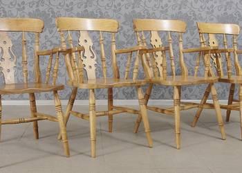 Krzesła w amerykańskim stylu komplet 4 szt. 4772