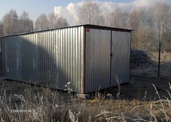Garaż 3x5 1300zł z transportem i montażem