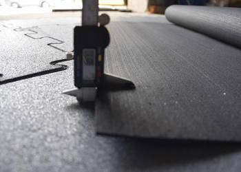Mata gumowa w rolce 4mm czarna