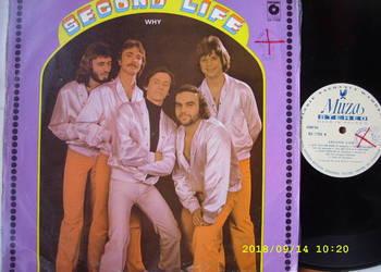 Pop ; SECOND LIFE--WHY ;LP winyl.