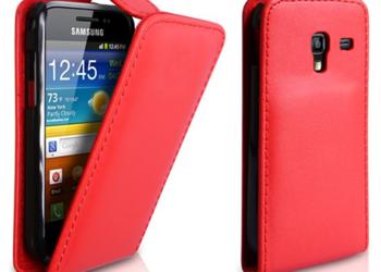 Pokrowiec w grochy na Samsunga S7500
