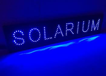 Reklama LED SOLARIUM 80x20cm szyld