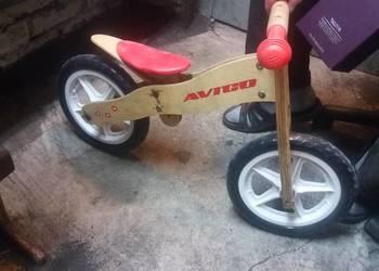 sprzedam rowerek biegowy drewniany