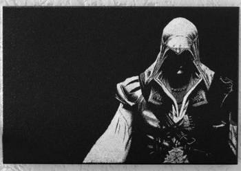 Assassin's Creed - Obraz wykonany ręcznie...