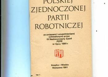 Statut Polskiej Zjednoczonej Partii Robotniczej