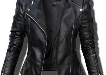 Kurtka Damska Jesienna Moto Ramoneska #100 FASHIONAVENUE.PL