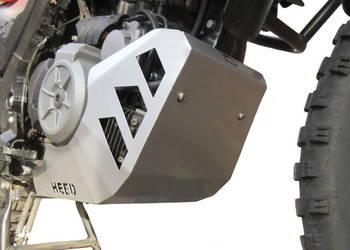 Osłona silnika HEED do BMW G 650 GS Sertao - stalowa srebrna