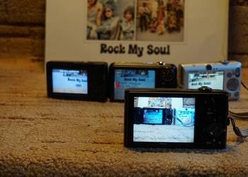 zestaw aparatów cyfrowych