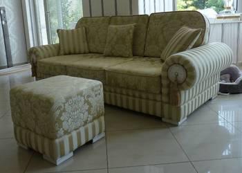Kanapa sofa wypoczynek stylowa trójka meble