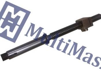 Śruba suportu narzędziowego z nakrętką do tokarki TUM25