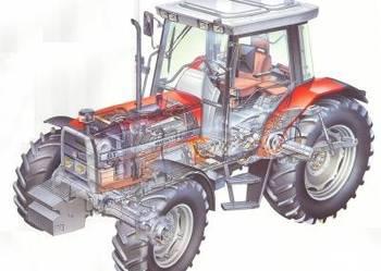 Instrukcja obsługi Massey Ferguson MF 6180 6190 Katalog CD