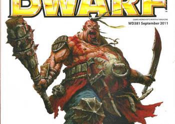 White dwarf Wrzesień 2011 Warhammer LOTR Games Workshop fan