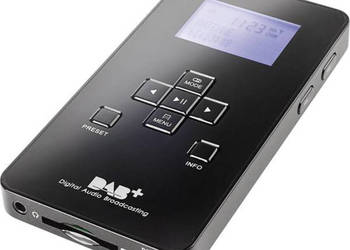 Radio kieszonkowe DAB+, FM Dual DAB Pocket Radio