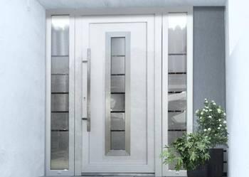 Nowoczesne drzwi wejściowe, zewnętrzne