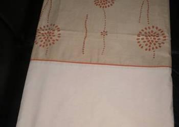 Używany zestaw poszewek na pościel z dekoracją z irchy
