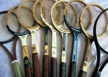 Drewniane rakiety tenisowe firmy SNAUWAERT 7 różne modele do