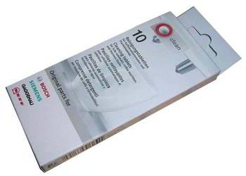 TABLETKI CZYSZCZĄCE 10SZT Siemes Bosch do ekspresu