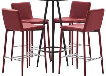 Stół + 6 krzeseł komplet MARUT*DREWNO BUKOWE*bar dobry stan