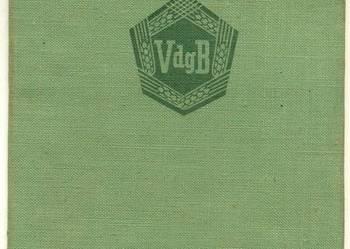 Mitgliedsbuch VdgB Historische Papiere und Dokumente DDR