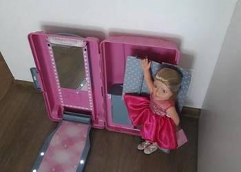 Duża lalka walizka prezent