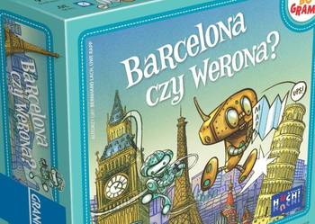 geograficzna gra planszowa - Barcelona czy Werona