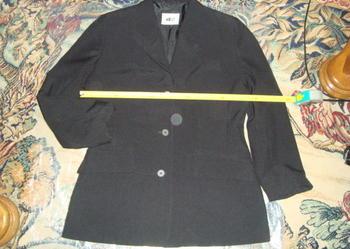 Marynarka damska czarna rozmiar 40