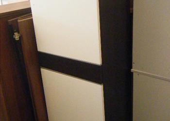 komoda z szufladą wysoka 2 komorowa