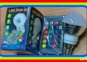 JB Żarówka E14 LED (RGB SD) Automatyczne Zmieniająca Kolory