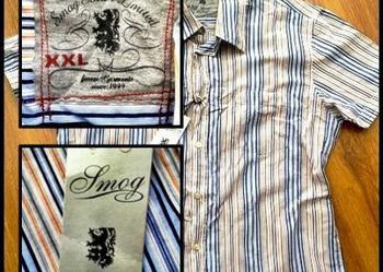 Nowa (z metką) koszula męska firmy SMOG XXL
