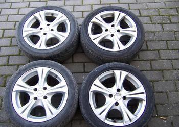"""Koła: Felgi 15"""", opony 195/165R15 opona 195x165x15 195/165/15, Audi Vw Fiat Lancia Skoda Seat"""