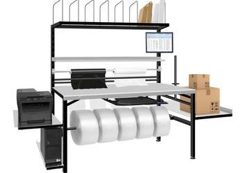 Stół do pakowania paczek / przesyłek RedSteel 180x80cm
