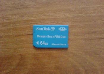 Sprzedam karte SDHC - 64 MB.