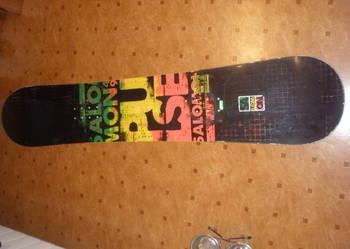 Deska snowboard 100 - 165 cm , buty, wiąznia, Narty