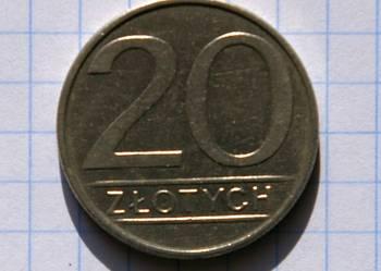 20 ZŁOTYCH 1985 ROK - POLSKA