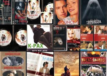 Kolekcja 23 filmów DVD na jesienne wieczory 5 zł szt.